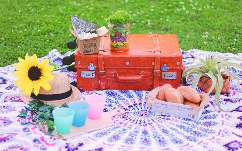 ピクニックやビーチに持っていく食べ物